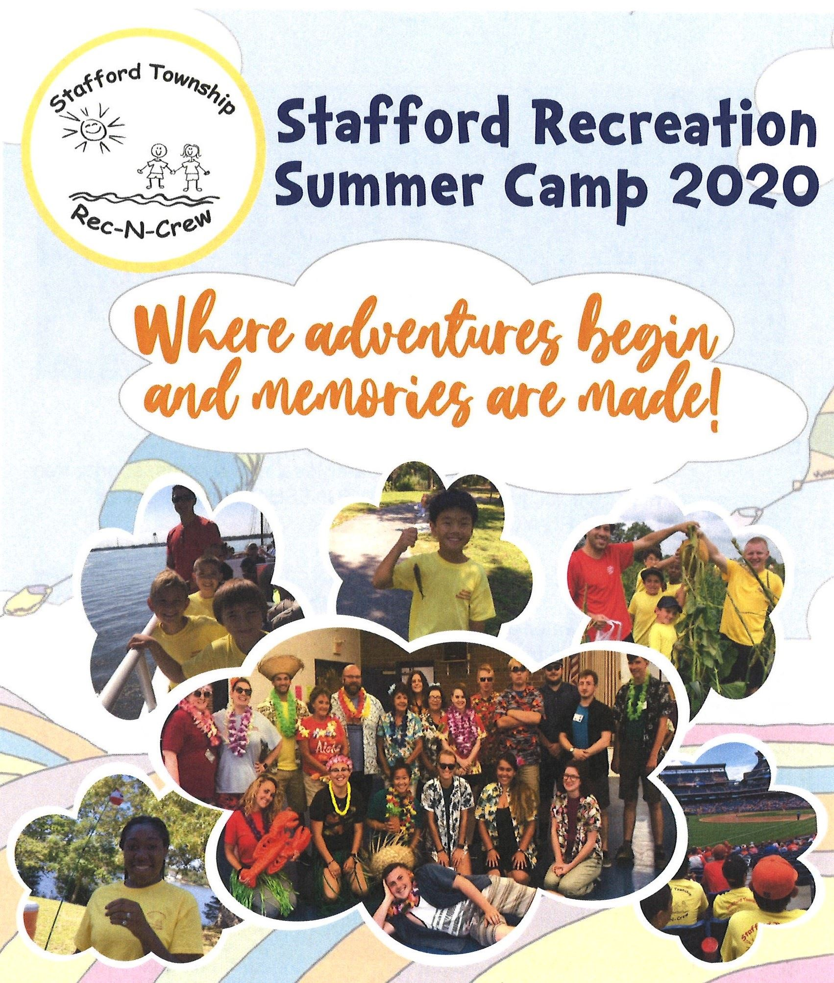 Summer Camp Collage Photo 2020