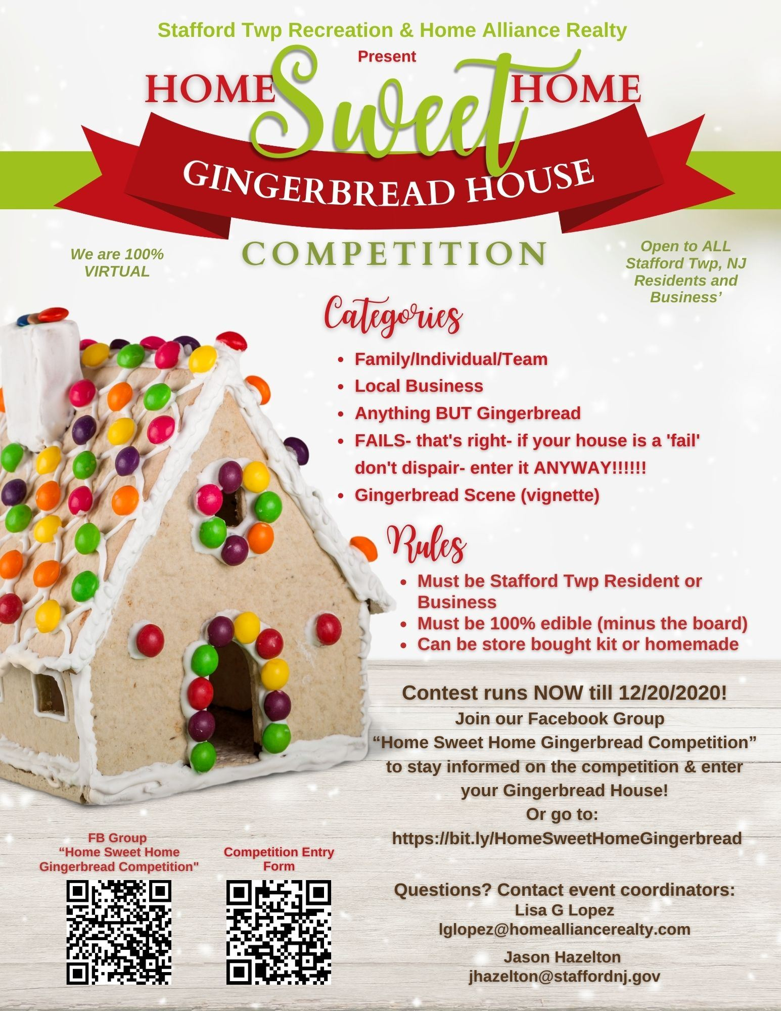 Gingerbread Flyer Photo